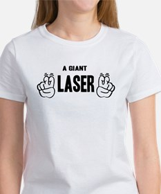 "A Giant ""Laser"" Tee"