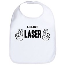 "A Giant ""Laser"" Bib"