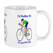 I'd Rather be Cycling Small Mug