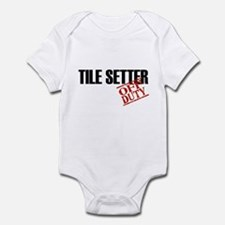 Off Duty Tile Setter Infant Bodysuit