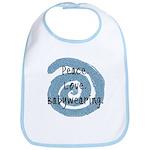 Peace. Love. Babywearing. Bib