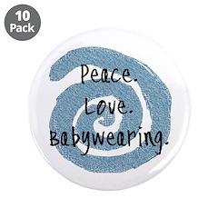 Peace. Love. Babywearing. 3.5