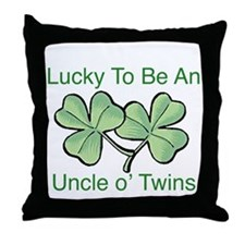 Luck to be Uncle Throw Pillow