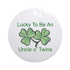 Luck to be Uncle Ornament (Round)