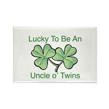 Luck to be Uncle Rectangle Magnet
