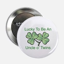 """Luck to be Uncle 2.25"""" Button"""