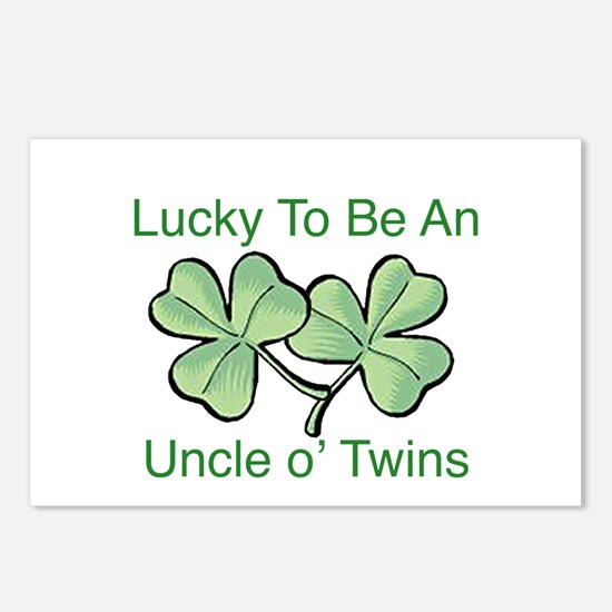 Luck to be Uncle Postcards (Package of 8)