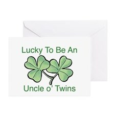 Luck to be Uncle Greeting Cards (Pk of 10)