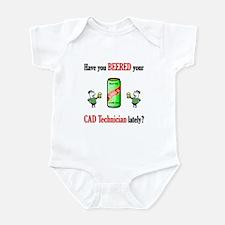 Cad Technician Infant Bodysuit