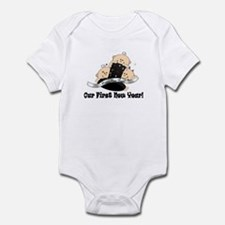 New Year TRIPLETS Infant Bodysuit