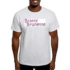 Bratty Brunette T-Shirt
