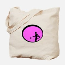 Philthy Hoops hot pink hoop dancer Tote Bag