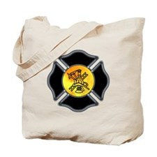 Fire Dept Tote Bag