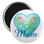 Mom Heart (blue) 2.25