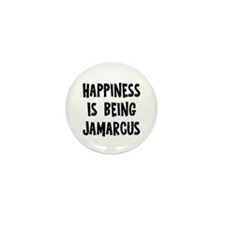 Happiness is being Jamarcus Mini Button (10 pack)