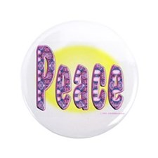 "Peace 3.5"" Button"
