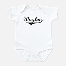 Waylon Vintage (Black) Infant Bodysuit