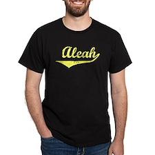 Aleah Vintage (Gold) T-Shirt