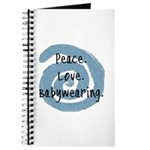 Peace. Love. Babywearing. Journal