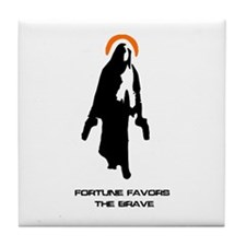 Divine Intervention Tile Coaster