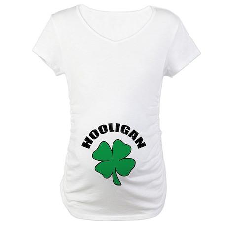 Irish Hooligan Maternity T-Shirt