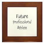 Future Professional Athlete Framed Tile