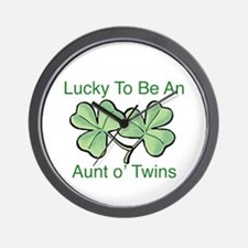 Lucky to be Aunt Wall Clock