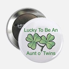 """Lucky to be Aunt 2.25"""" Button"""
