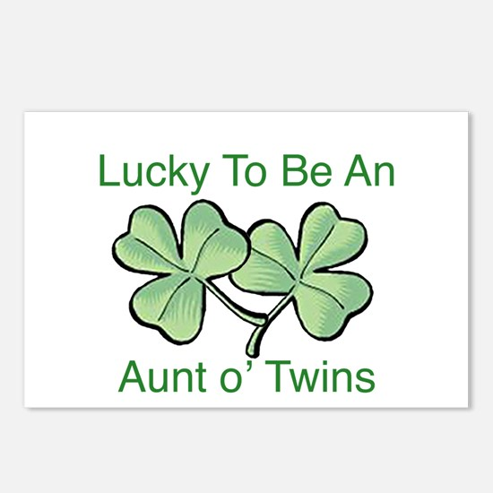 Lucky to be Aunt Postcards (Package of 8)