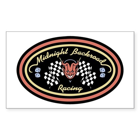M-B Racing -OV Rectangle Sticker