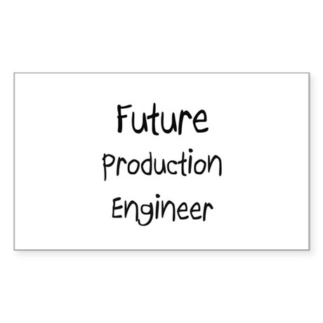 Future Production Engineer Rectangle Sticker