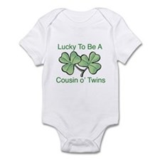 Lucky to be Cousin Infant Bodysuit