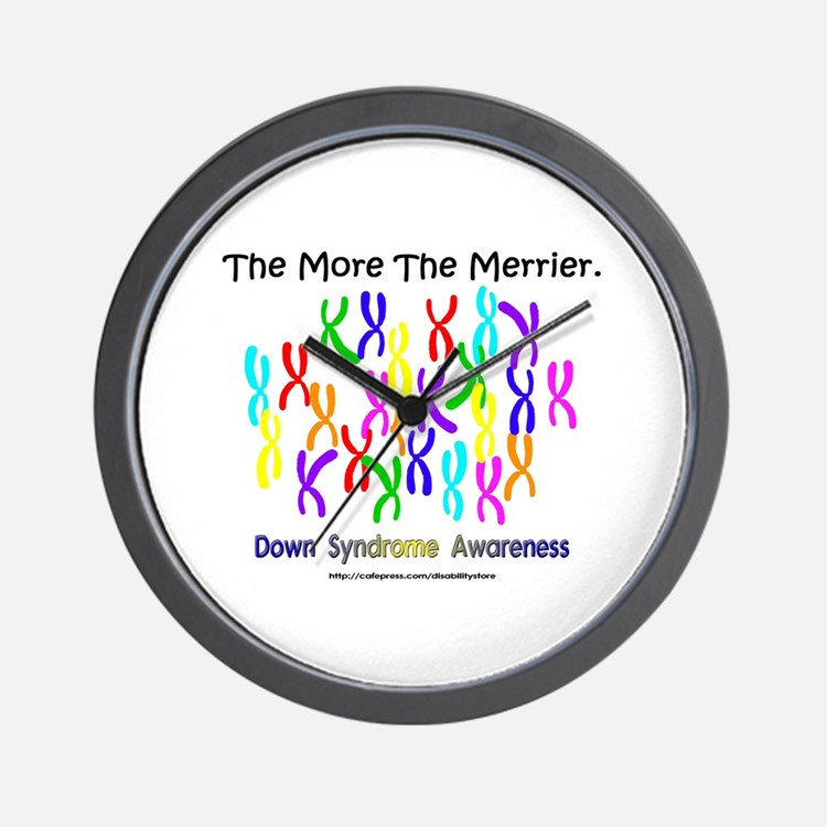 The More The Merrier Wall Clock