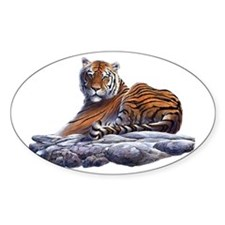 Tiger - 1 Oval Decal