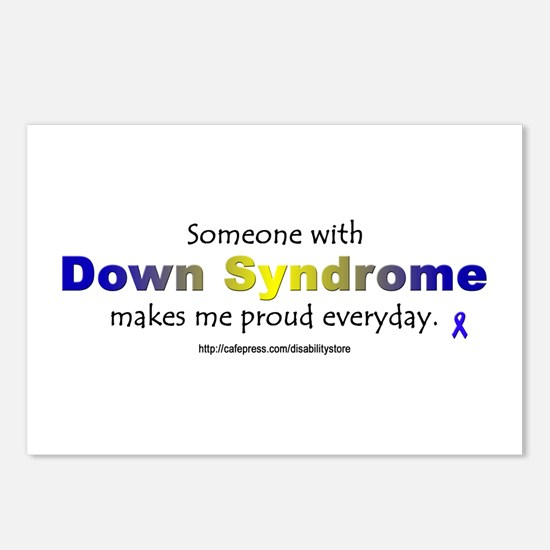 """Down Syndrome Pride"" Postcards (Package of 8)"