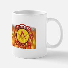 Firey Fire Dept. Masonic Mug