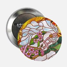 "Carousel Horse 2.25"" Button (10 pack)"