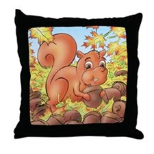 Skippy's Throw Pillow