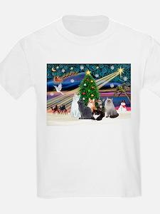 Xmas Magic / Six Cats T-Shirt