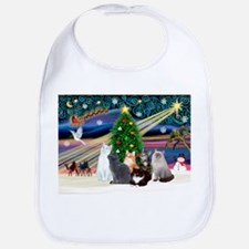 Xmas Magic / Six Cats Bib