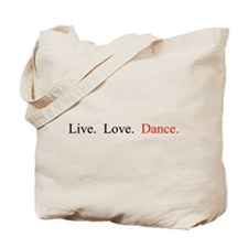 Unique Dancer Tote Bag