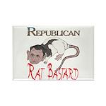 Republican Rat Bastard! Rectangle Magnet