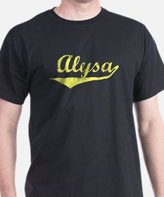Alysa Vintage (Gold) T-Shirt