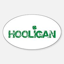 Hooligan Oval Decal