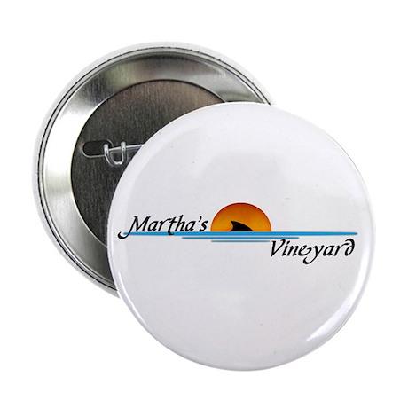 """Martha's Vineyard Shark 2.25"""" Button (10 pack)"""