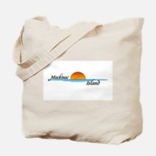 Mackinac Island Sunset Tote Bag