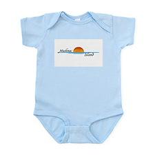 Mackinac Island Sunset Infant Bodysuit