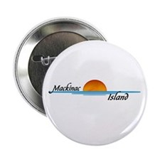 "Mackinac Island Sunset 2.25"" Button (10 pack)"