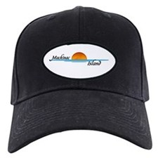 Mackinac Island Sunset Baseball Hat
