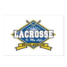 Lacrosse Is My Life Postcards (Package of 8)